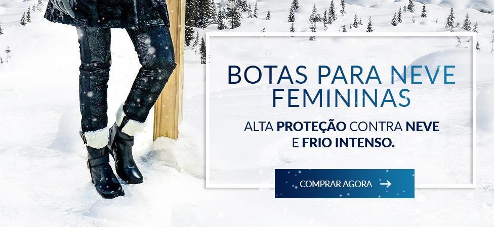 botas para neve femininas