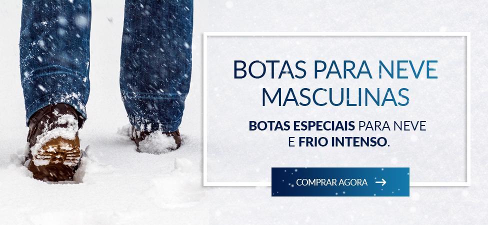 botas para neve masculinas