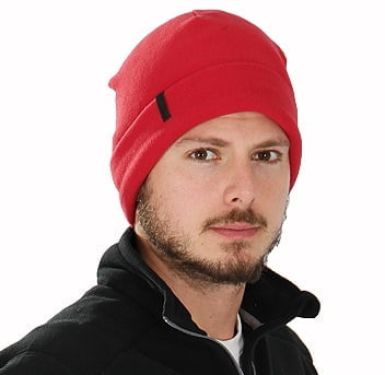 Gorro Térmico Masculino Microfleece Vermelho