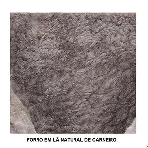 Botas Forradas com Lã Natural de Carneiro Masculinas - 1005cM3