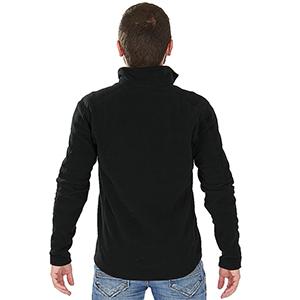 Blusa Térmica Microfleece Masculina - Preta