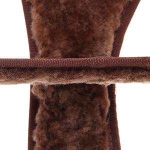 Palmilha de Lã Unissex Forrada com Lã Natural de Carneiro