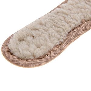 Palmilha de Lã Unissex Forrada com Lã Sintética